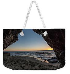 Cave Sunset Weekender Tote Bag