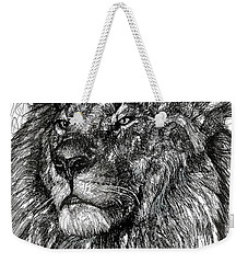 Cecil The Lion Weekender Tote Bag by Michael  Volpicelli