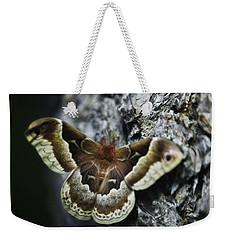 Cecropia Moth Weekender Tote Bag
