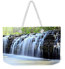 Cedar Creek Falls, Kansas Weekender Tote Bag