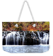 Cedar Creek Falls, Kansas Weekender Tote Bag
