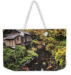 Cedar Creek Grist Mill Color Burst Weekender Tote Bag