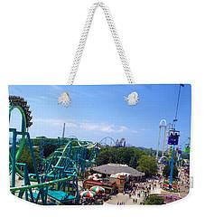 Cedar Point Amusement Park Weekender Tote Bag