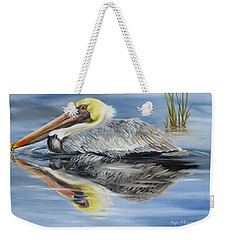Cedar Point Pelican 2 Weekender Tote Bag by Phyllis Beiser