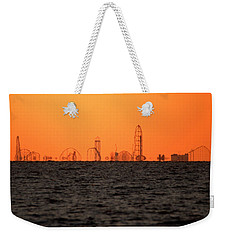 Cedar Point Skyline Weekender Tote Bag