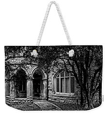 Weekender Tote Bag featuring the photograph Cedarhyrst by Jessica Brawley