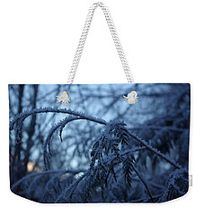 Cedars Of Ice Weekender Tote Bag