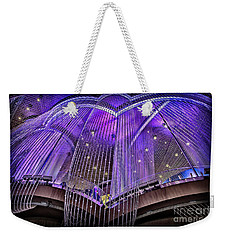 Ceiling Decor In Las Vegas Weekender Tote Bag