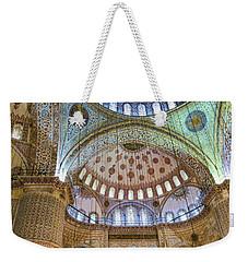Ceiling Of Blue Mosque Weekender Tote Bag