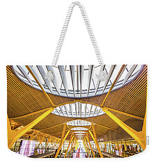 Ceiling Windows Madrid Airport Weekender Tote Bag