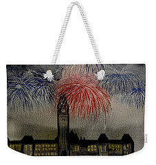 Celebrate Weekender Tote Bag by Betty-Anne McDonald