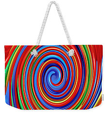 Celebrate Life And Have A Swirl Weekender Tote Bag