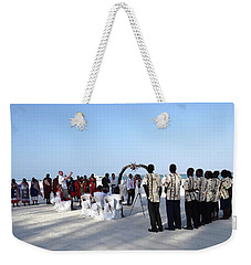Celebrate Marriage In Kenya Weekender Tote Bag