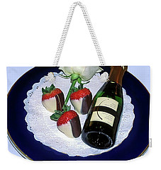 Weekender Tote Bag featuring the photograph Celebrate  by Sally Weigand