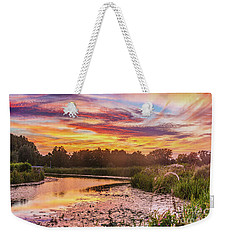 Celebrating Sky Weekender Tote Bag