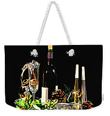 Weekender Tote Bag featuring the photograph Celebration by Diana Angstadt