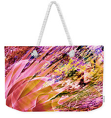 Celebration In Pink Weekender Tote Bag