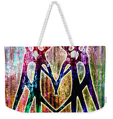 Celebration Weekender Tote Bag by Jaison Cianelli