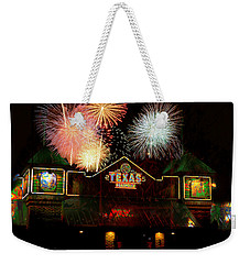 Celebrate Texas Weekender Tote Bag by Suzanne Powers