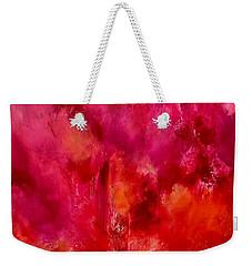 Celebrations Wedding Pink Abstract  Weekender Tote Bag