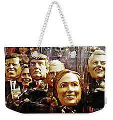 Celebrity Bobbleheads 1 Weekender Tote Bag