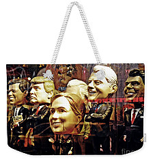 Celebrity Bobbleheads 2 Weekender Tote Bag