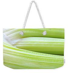 Celery Abstract Weekender Tote Bag