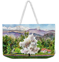 Celeste's Farm Weekender Tote Bag by Anne Gifford