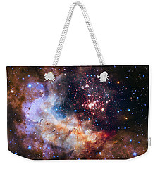 Celebrating Hubble's 25th Anniversary Weekender Tote Bag by Nasa