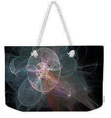 Weekender Tote Bag featuring the photograph Celestial Jellyfish by Ronda Broatch