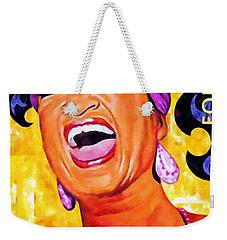 Celia Cruz Weekender Tote Bag