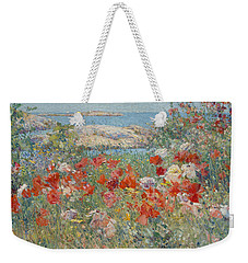 Celia Thaxter's Garden, Isles Of Shoals, Maine Weekender Tote Bag