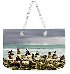 Cell Phone Rock Garden Weekender Tote Bag
