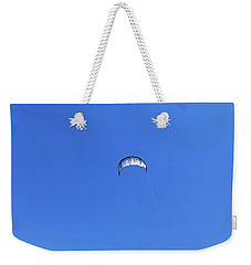 Blue Space Weekender Tote Bag