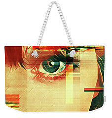 Weekender Tote Bag featuring the photograph Cellmate 9450 by Carol Leigh