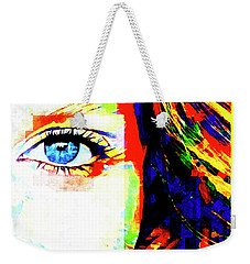 Weekender Tote Bag featuring the photograph Cellmate 0483 by Carol Leigh