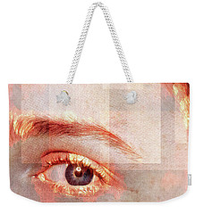 Weekender Tote Bag featuring the photograph Cellmate 0542 by Carol Leigh
