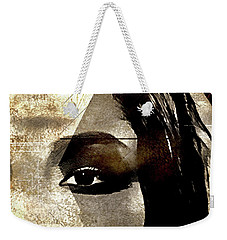 Weekender Tote Bag featuring the photograph Cellmate 0753 by Carol Leigh