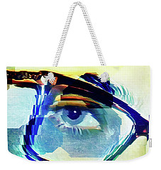 Weekender Tote Bag featuring the photograph Cellmate 9284 by Carol Leigh
