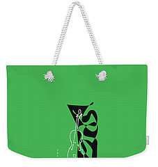 Cello In Green Weekender Tote Bag