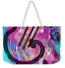 Cello Weekender Tote Bag by Jason Nicholas