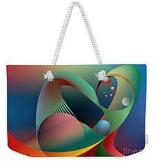 Cells Path Weekender Tote Bag