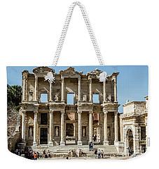 Celsus Library Weekender Tote Bag