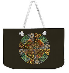 Celtic Aperture Mandala Weekender Tote Bag