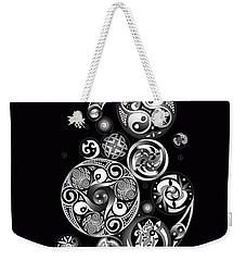 Celtic Clockwork Weekender Tote Bag