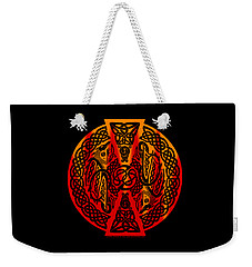 Celtic Dragons Fire Weekender Tote Bag