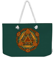 Celtic Pyramid Mandala Weekender Tote Bag