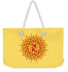 Celtic Sun Weekender Tote Bag