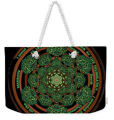 Celtic Tree Of Life Mandala Weekender Tote Bag