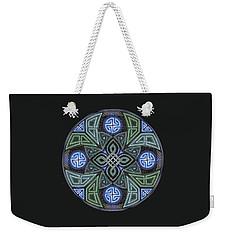 Celtic Ufo Mandala Weekender Tote Bag